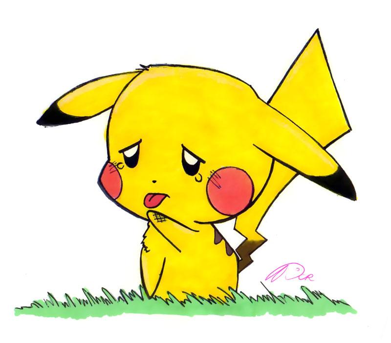 Pikachu by Chibi-Manga-Stalker on DeviantArt