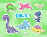 Kawaii Dinosaur World