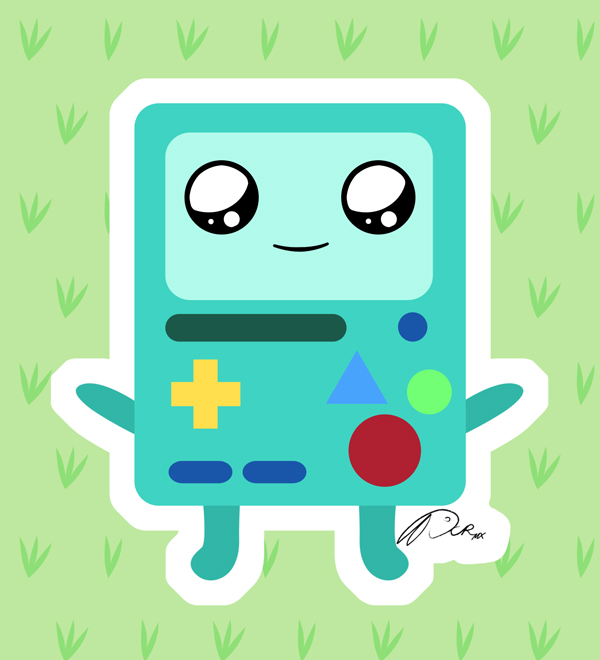 BMO Kawaii by DCRmx on DeviantArt