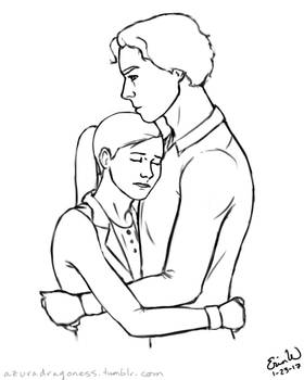 Hugs - Daily Doodle #23