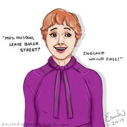Mrs. Hudson - Daily Doodle #24