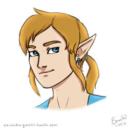 Link - Daily Doodle #25