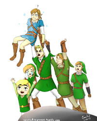 Circle of Link - Daily Doodle #28