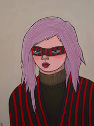 Girl in a Mask by KittyCooper