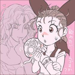 Tsumiko and Zero by getakichi