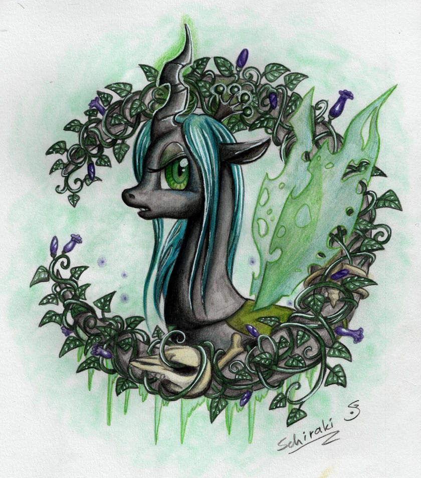 Queen Chrysalis by Schiraki