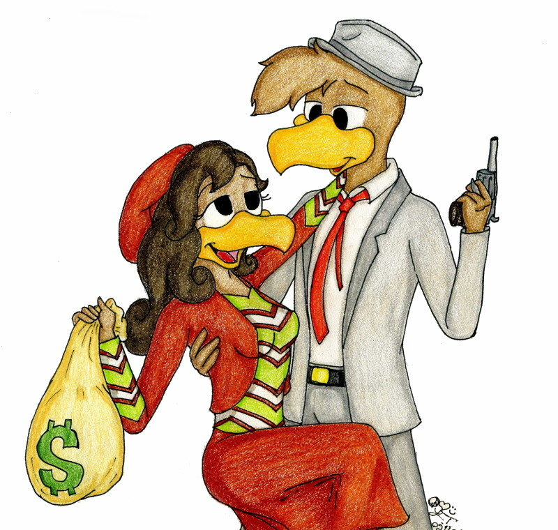 For Love and Money by FictionArtwing