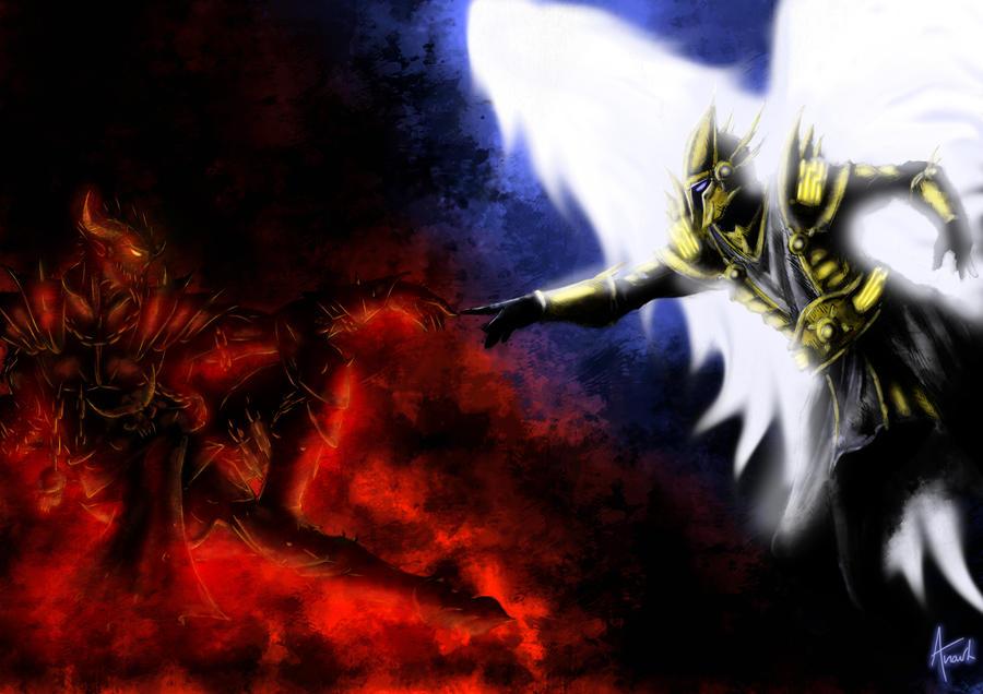 heaven vs hell art - photo #3