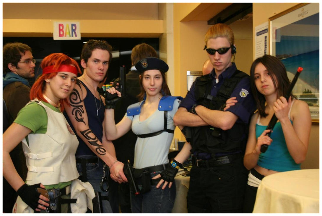 resident evil cosplay by muza86