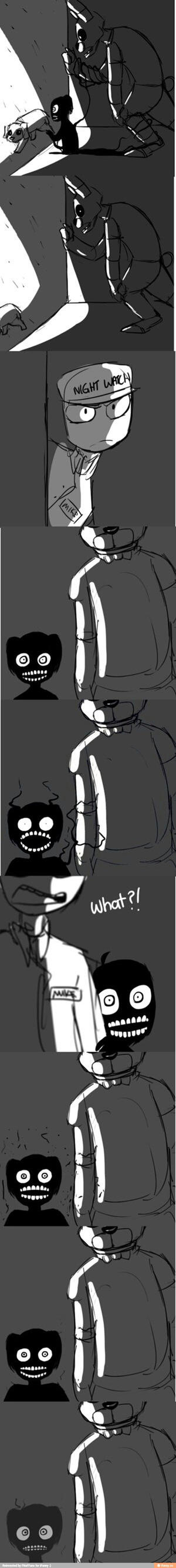 Fnaf Comic 5 by Mike-love-Smidcht