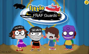 Little Fnaf Guards by Mike-love-Smidcht
