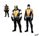 Sketck91- MCU Wolvie and Scott Concepts