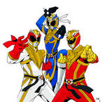 Street Fightin' Power Rangers