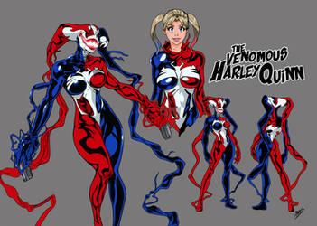 Amalgam Deux: The Venomous Harley Quinn