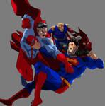 Superman vs The World