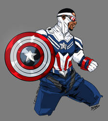 Captain America: Falcon and the Winter Soldier