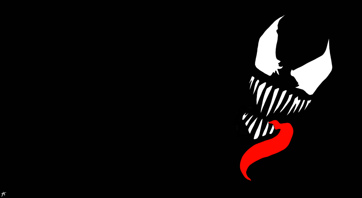 Venom minimalistic wallpaper by p00mar on deviantart venom minimalistic wallpaper by p00mar voltagebd Image collections