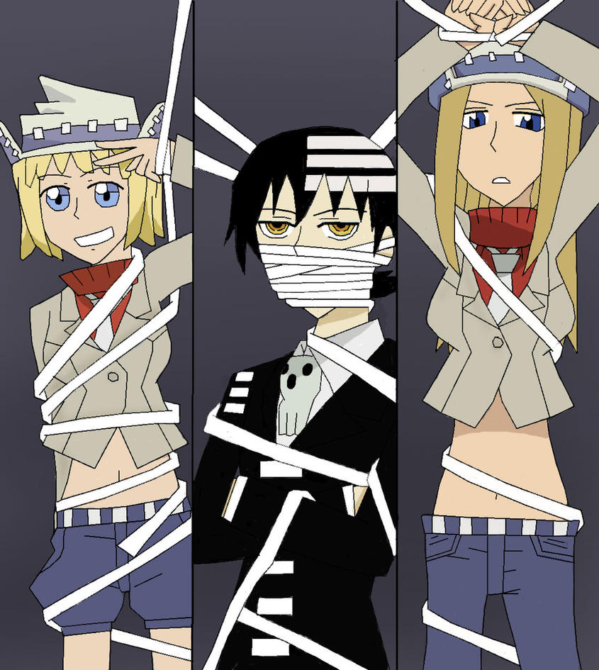 Soul Eater-DTK, Liz, and Patty by Awesome-Anime-Lover on ...  Soul Eater-DTK,...