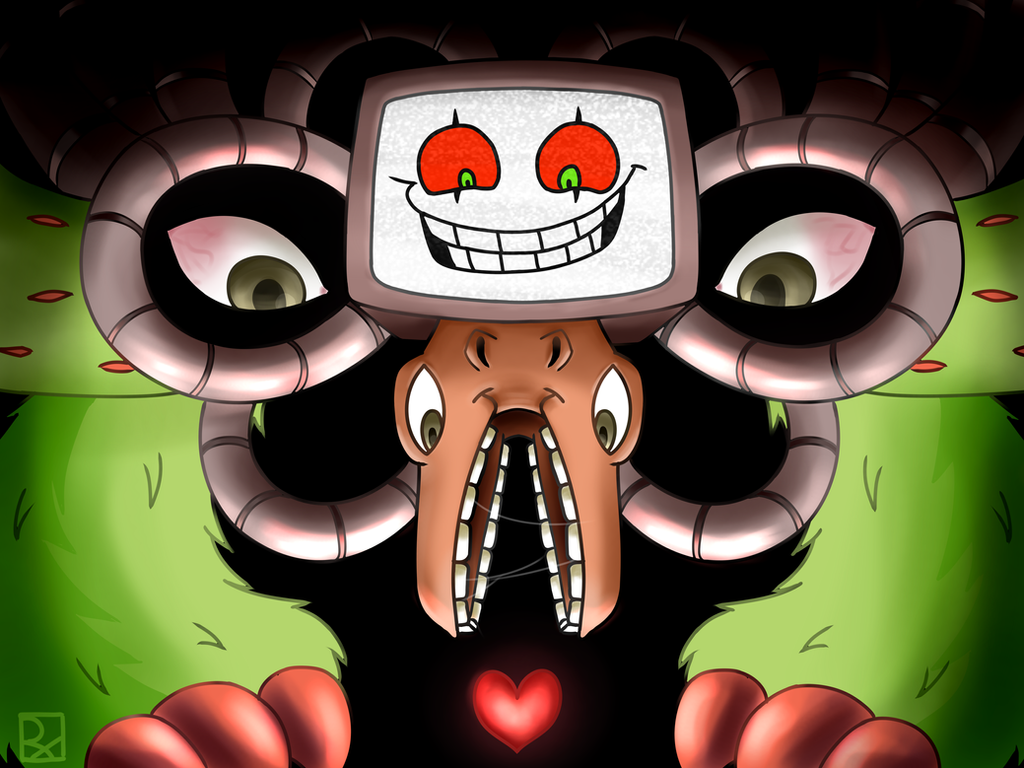 Omega Flowey by rooxx13