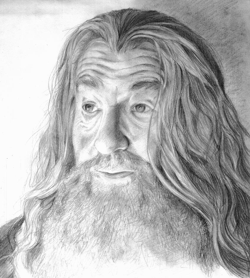 Gandalf by GrimRipper77