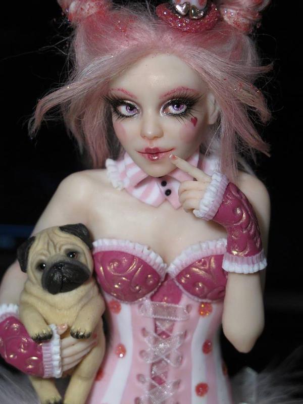 WIP Pin Up OOAK Doll by FantasyLilyan