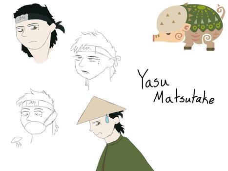 Matsutake Clan OC Doodles