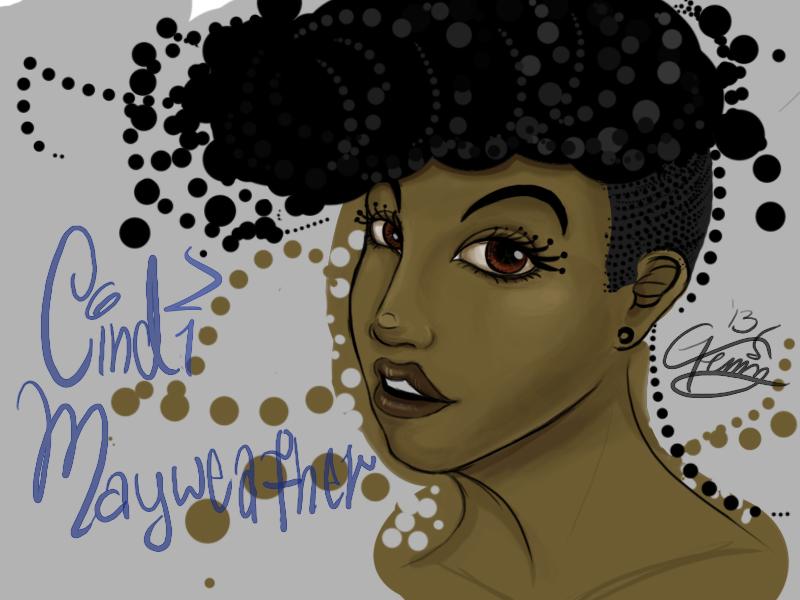 Cindi Mayweather by Blackminds15 ... - cindi_mayweather_by_blackminds15-d6runsp