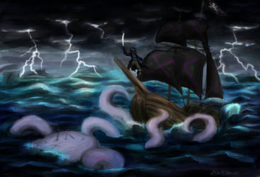 Keep calm and Release the Kraken by HiroDraga
