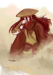The Wanderer by HiroDraga