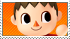 SSB Villager Stamp by ReallyGouda