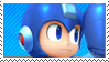 SSB Mega Man Stamp by ReallyGouda