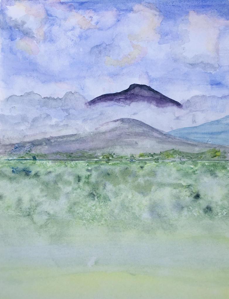 Misty Cadir Idris Snowdonia by MagicAlly25