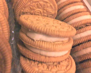 Defective Oreo Cookie