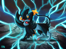 Luxray by lanfanarts