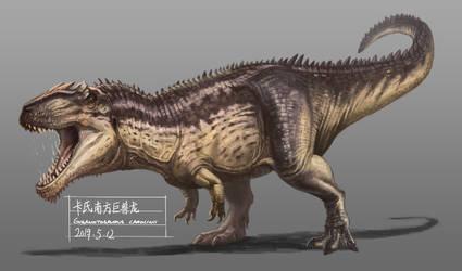 Giganotosaurus by KookaburraSurvivor