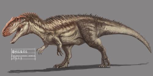 Carcharodontosaurus by KookaburraSurvivor