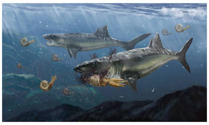 Helicoprion by KookaburraSurvivor