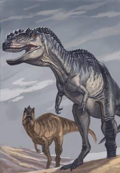 Yangchuanosaurus speedpaint