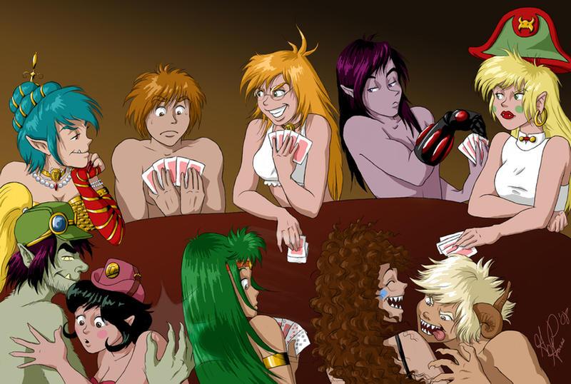Jugando al strip poker - 2 5