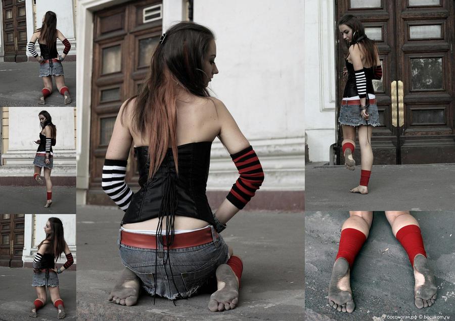 фото женщин с грязными ногами