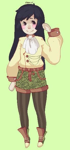 + Olive Floatie Babe Adopt + by chemical-XI