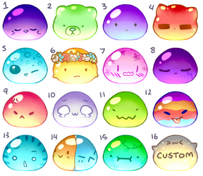 BLOBS 3 Adopts [Closed] by Wafkie