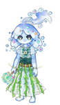 Blob Guardian Reverie / Humanoid by Wafkie