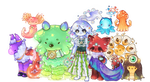 Blob Guardians / SO FAR by Wafkie