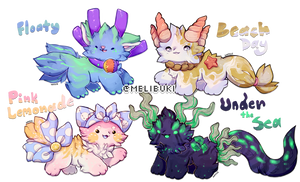 Summer Themed Melibu Adopts [Closed] Auction