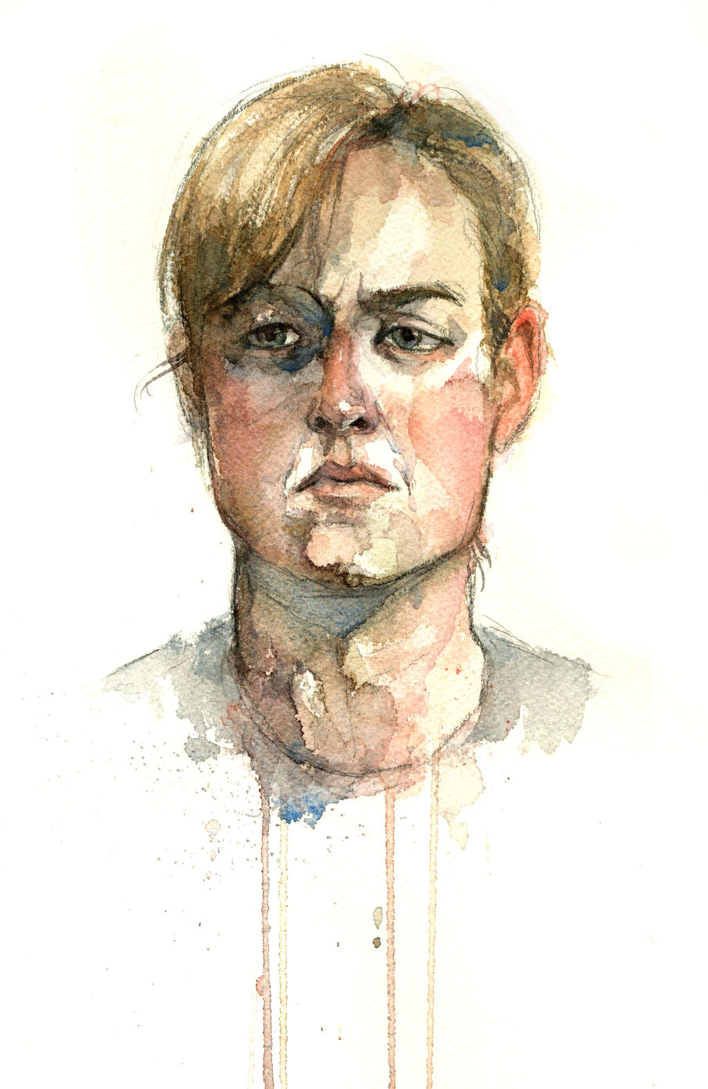 Watercolor Model November 2012 by YLimes