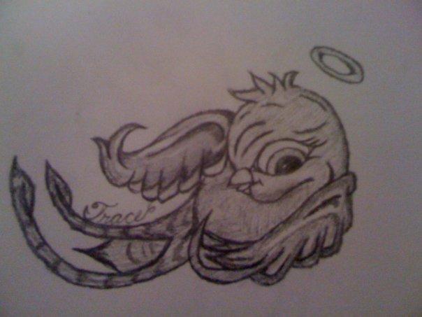 Baby bird tattoo design by bkerwin on DeviantArt