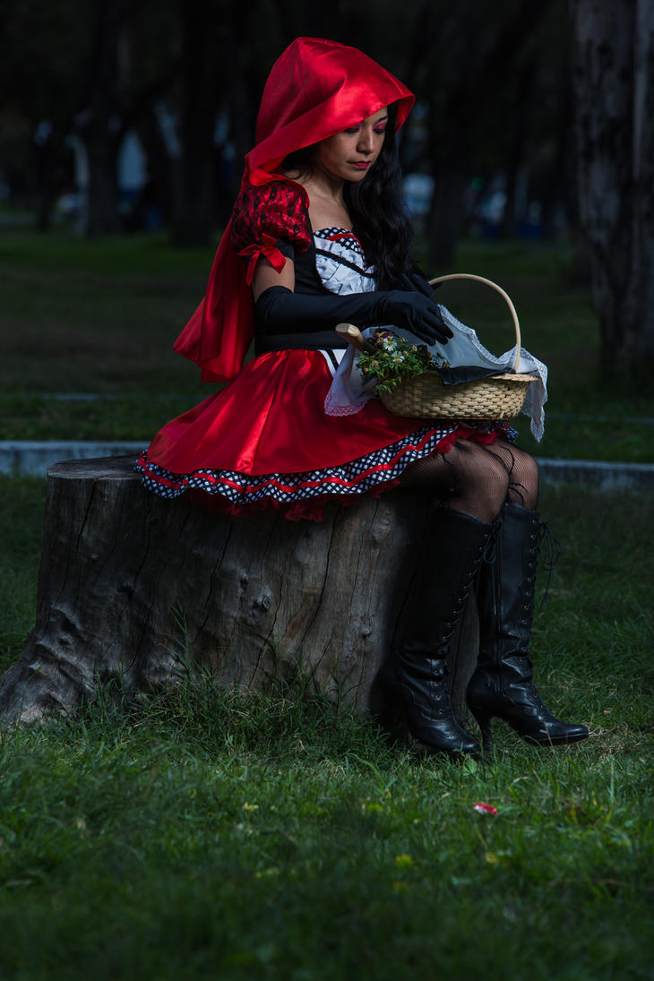 Evil Red Riding Hood (04) by omaroman