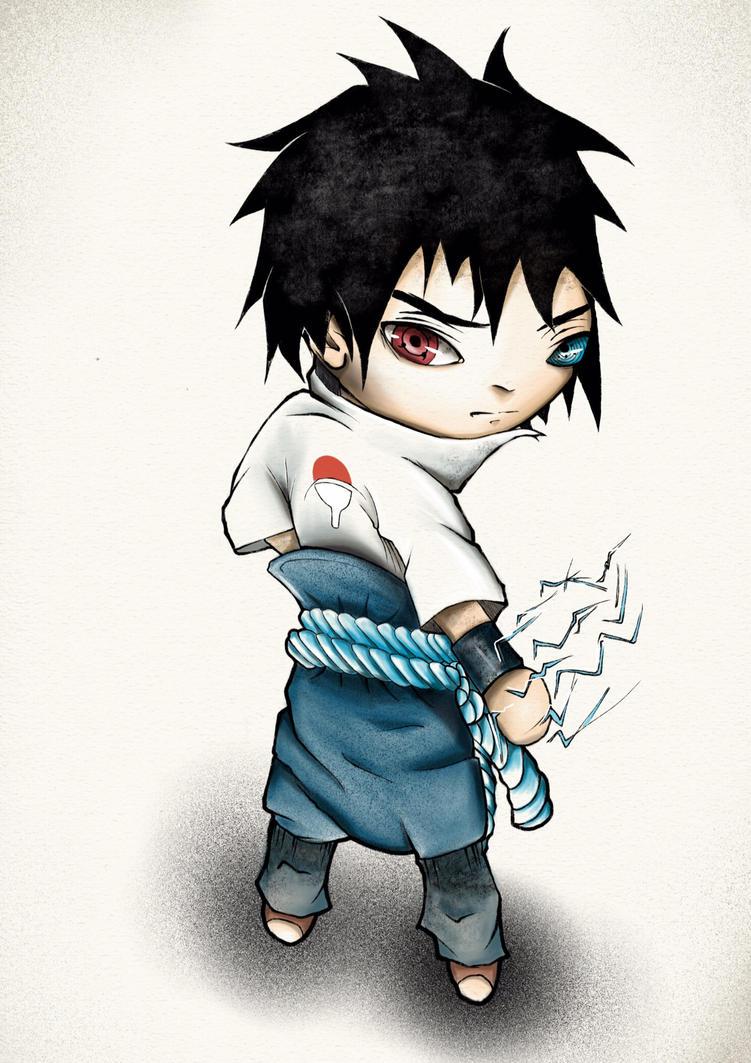 Sasuke chibi by natty81