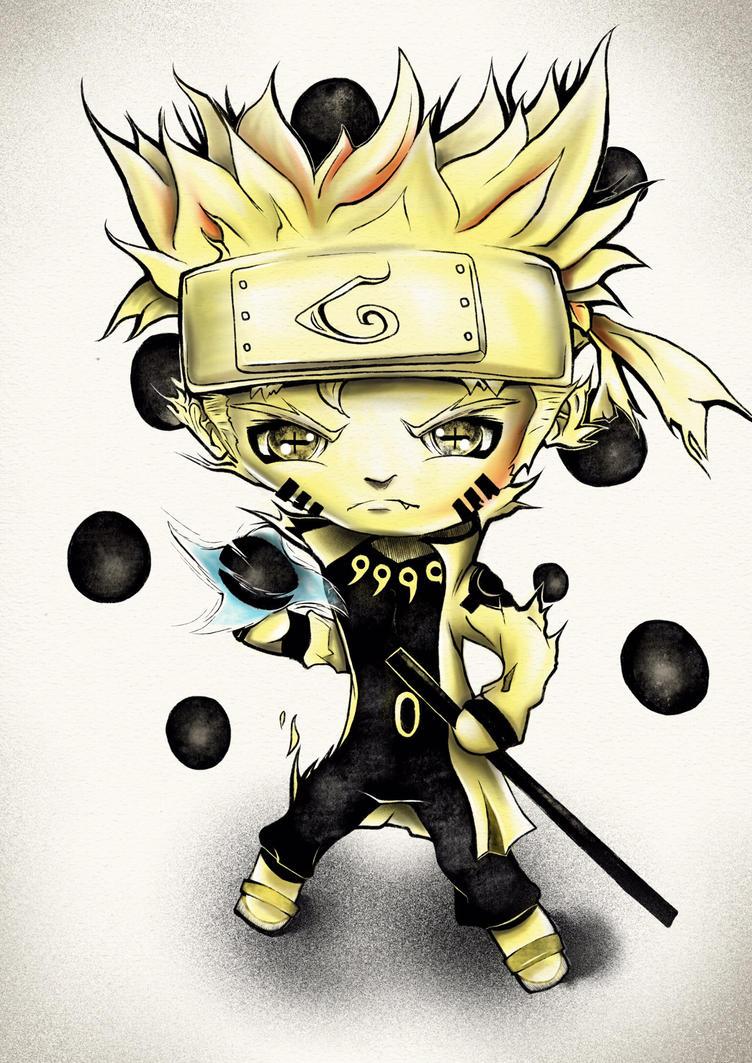 Naruto chibi by natty81